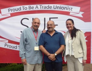 Glyn Jones, Solidarity4All, Leonie Sharp