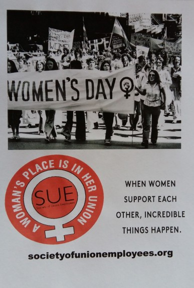 SUE International Womens Day